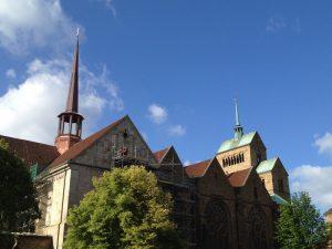 Der Dom zu Minden mit dem 2011 errichteten Vierungsturm. Foto: Amtage